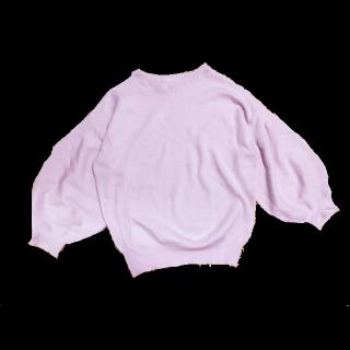 このコーデで使われているOZOCのニット/セーター[ピンク]