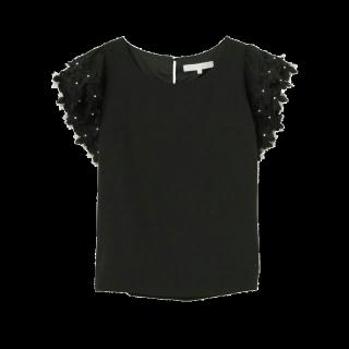 このコーデで使われているMERCURYDUOのTシャツ/カットソー[ブラック]