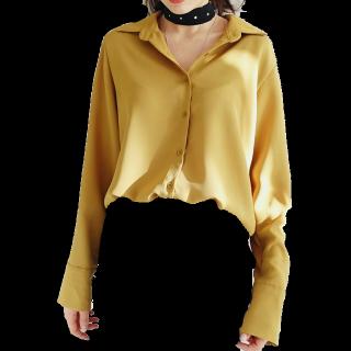 このコーデで使われているdholicのシャツ/ブラウス[イエロー]