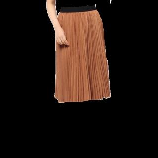 このコーデで使われているLOWRYS FARMのミモレ丈スカート[キャメル/ブラウン]