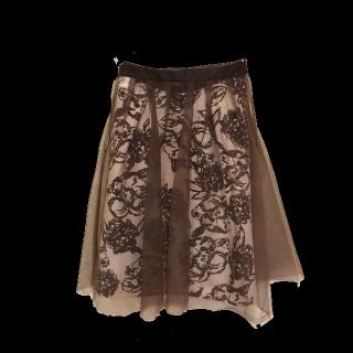 JUSGLITTYのひざ丈スカート