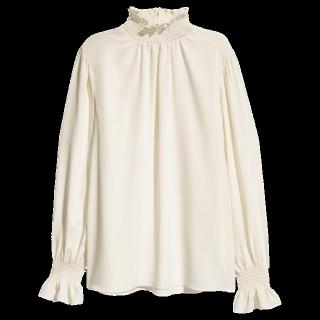 このコーデで使われているH&Mのシャツ/ブラウス[ホワイト]