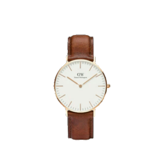 このコーデで使われているDaniel Wellingtonの腕時計[キャメル/ゴールド]