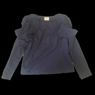 このコーデで使われているtocco closetのシャツ/ブラウス[ネイビー]