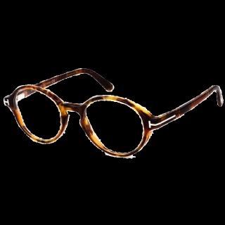 このコーデで使われているTOM FORD EYEWEARのメガネ[キャメル/ベージュ/ブラウン]