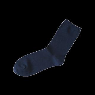 このコーデで使われている靴下屋のソックス[ネイビー]