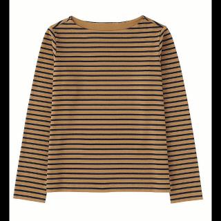 このコーデで使われているUNIQLOのTシャツ/カットソー[その他/キャメル]