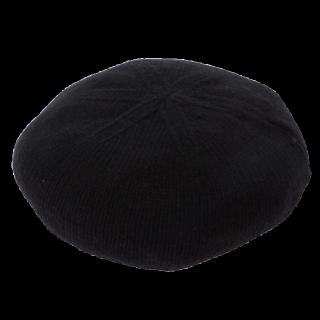 このコーデで使われているWEGOのベレー帽[ブラック]