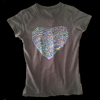 このコーデで使われているTシャツ/カットソー[グレー/グリーン/ブルー/ピンク]