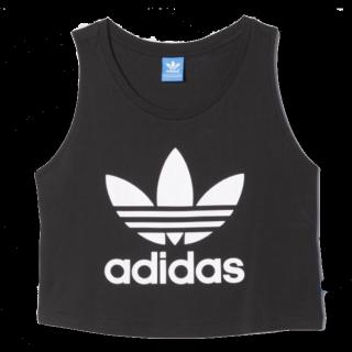 このコーデで使われているadidasのTシャツ/カットソー[ブラック/ホワイト]