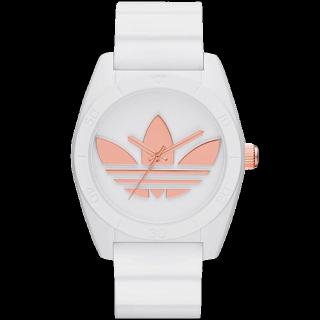 このコーデで使われているadidasの腕時計[ゴールド/ピンク/ホワイト]