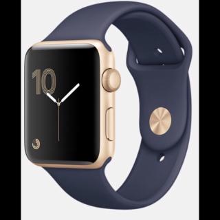 このコーデで使われているAppleの腕時計[ゴールド/ネイビー]