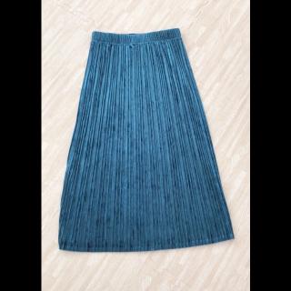 moussyのプリーツスカート