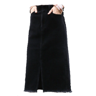 LOWRYS FARMのミモレ丈スカート