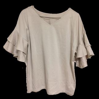 このコーデで使われているa.v.vのTシャツ/カットソー[ベージュ]