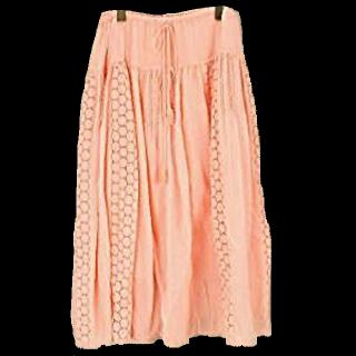 TSUMORI CHISATOのマキシ丈スカート