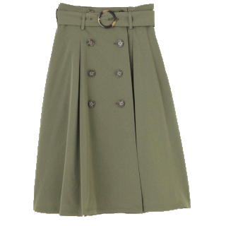 dazzlinのミモレ丈スカート