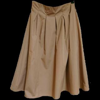 このコーデで使われているASTORIA ODIERのひざ丈スカート[ベージュ]