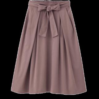 このコーデで使われているGUのスカート[ピンク]