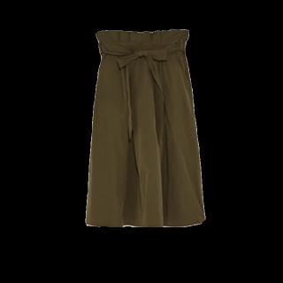 ZARAのひざ丈スカート