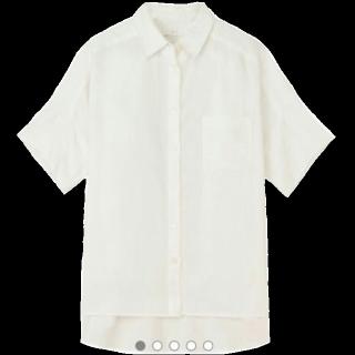 このコーデで使われているMUJI(無印良品)のシャツ/ブラウス[ホワイト]