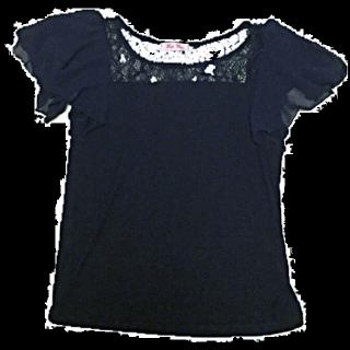 このコーデで使われているone way 2ndのTシャツ/カットソー[ネイビー]