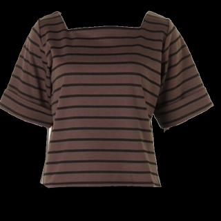 このコーデで使われているRoomy'sのTシャツ/カットソー[カーキ/ブラック]