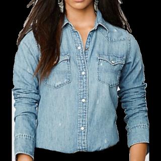 このコーデで使われているRALPH LAURENのシャツ/ブラウス[ブルー]
