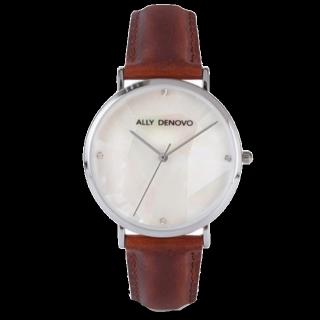 このコーデで使われている腕時計[ホワイト/グレー/ブラウン/キャメル]