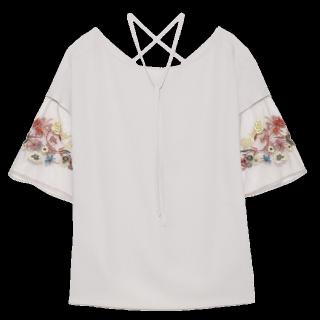 このコーデで使われているfurfurのTシャツ/カットソー[グレー]