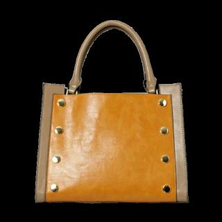 このコーデで使われているJEANASISのハンドバッグ[イエロー]