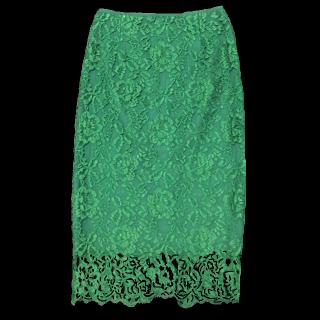 このコーデで使われているUNITED ARROWSのタイトスカート[グリーン]