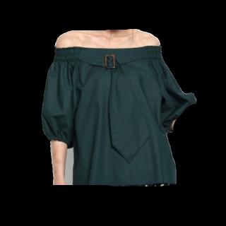 このコーデで使われているAG by aquagirlのシャツ/ブラウス[カーキ/グリーン]