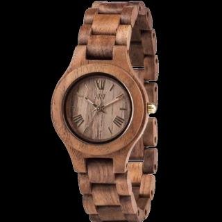 このコーデで使われているWeWOODの腕時計[ブラウン]