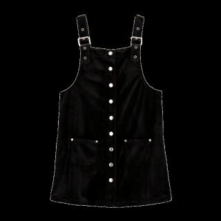 このコーデで使われているjouetieのジャンパースカート[ブラック]