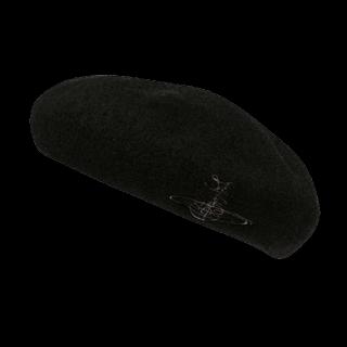 このコーデで使われているVivienne Westwoodのベレー帽[ブラック]