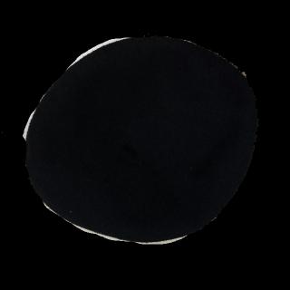 このコーデで使われているLOWRYS FARMのベレー帽[ブラック]