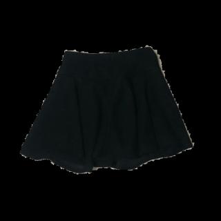 このコーデで使われているEGOISTのミニスカート[ブラック]