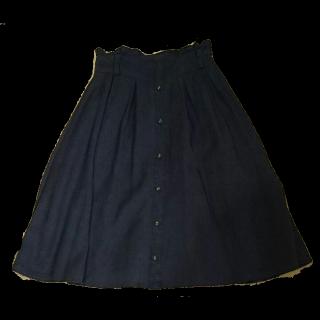 RDのミモレ丈スカート