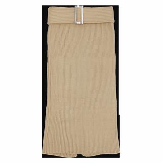 このコーデで使われているandjのタイトスカート[ベージュ]