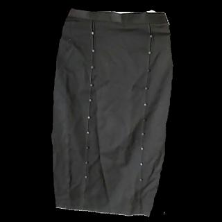 このコーデで使われているミモレ丈スカート[ブラウン]