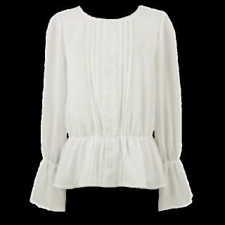 このコーデで使われているrecaのシャツ/ブラウス[ホワイト]