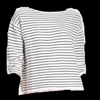 このコーデで使われているUNIQLOのTシャツ/カットソー[ホワイト/ブラック]