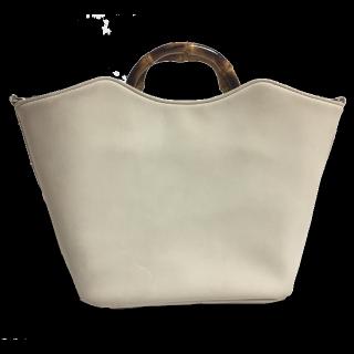 このコーデで使われているAne Moneのハンドバッグ[ホワイト/グレー]