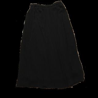 このコーデで使われているUNIQLOのプリーツスカート[ブラック]