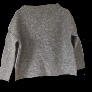 このコーデで使われているニット/セーター[グレー]