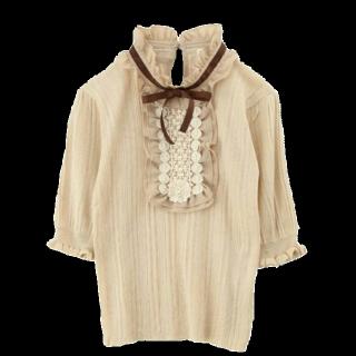 このコーデで使われているaxes femmeのシャツ/ブラウス[ベージュ]