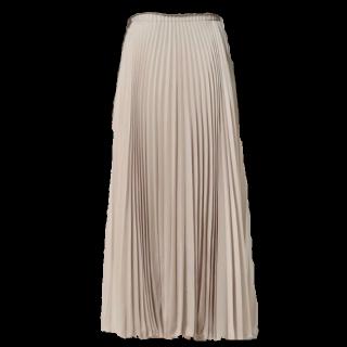 このコーデで使われているUNITED ARROWSのマキシ丈スカート[ピンク/ベージュ]