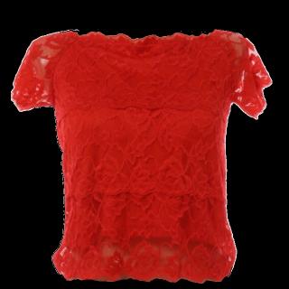 このコーデで使われているmysty womanのTシャツ/カットソー[レッド]