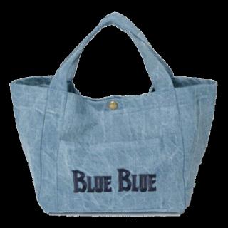 このコーデで使われているBLUE BLUE JAPANのトートバッグ[ブルー]
